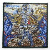 Sepultura - 'Machine Messiah' Woven Patch
